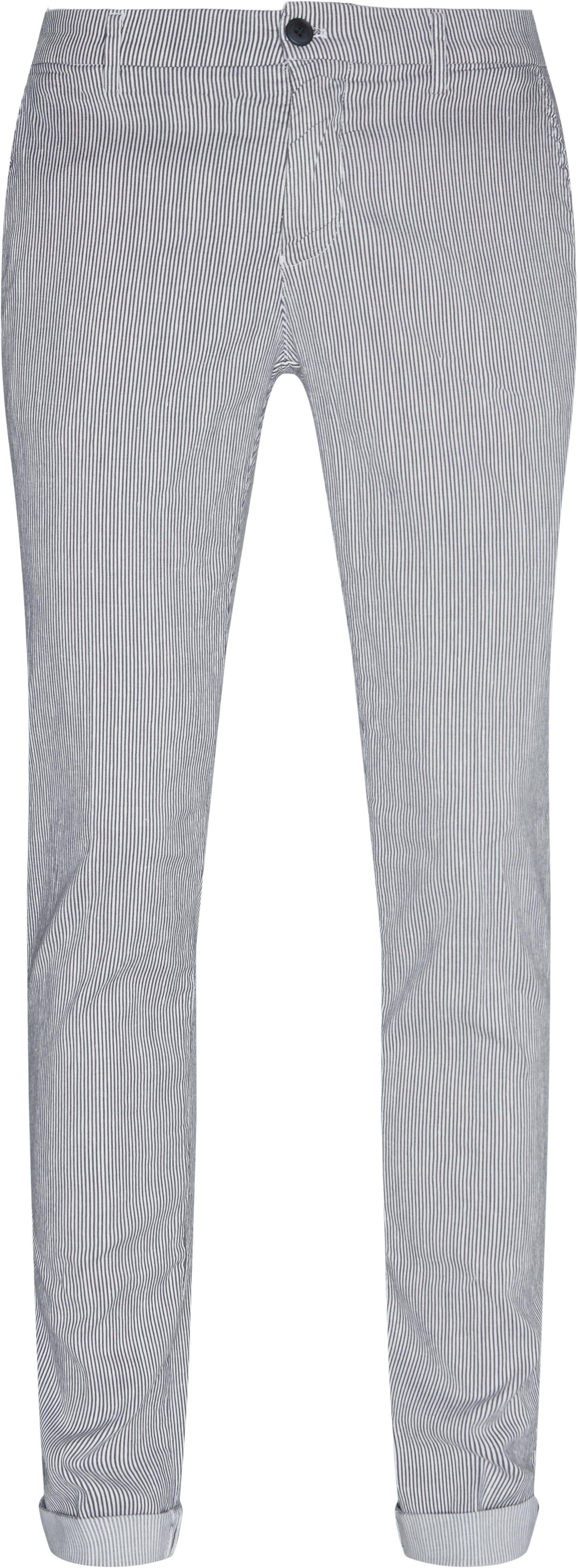 Bukser - Slim fit - Blå